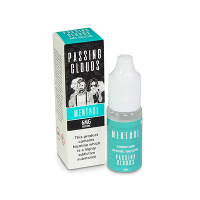 Passing Clouds Menthol Flavoured E-Liquid 6MG