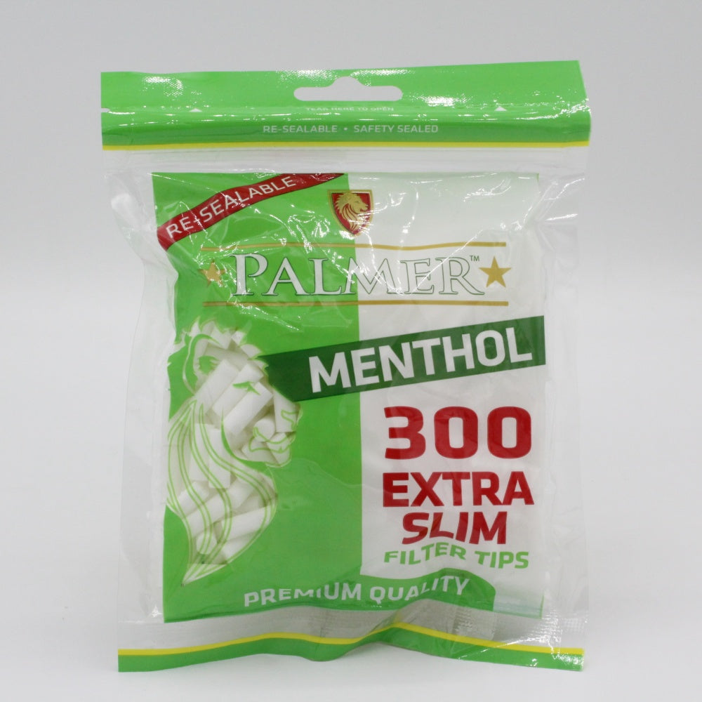 Palmer Extra Slim Menthol Filter Tips Bags 300s