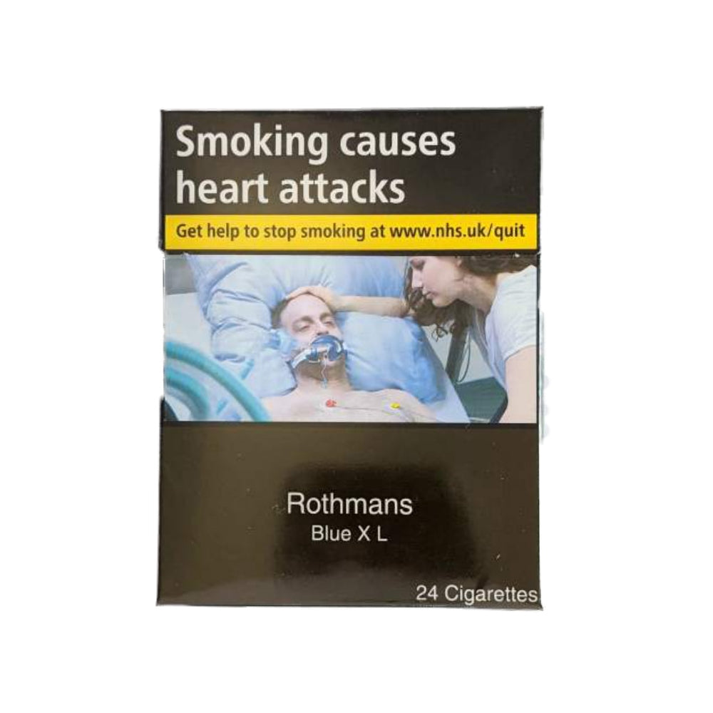 Rothmans XL Blue 24s Cigarettes
