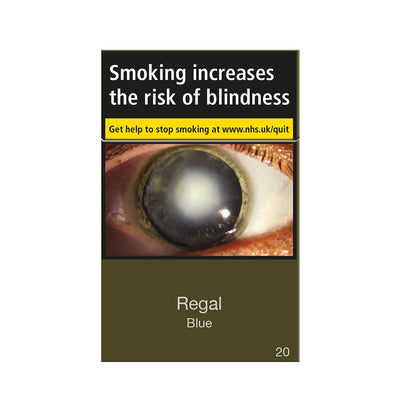 Regal Blue Cigarettes 20 Pack
