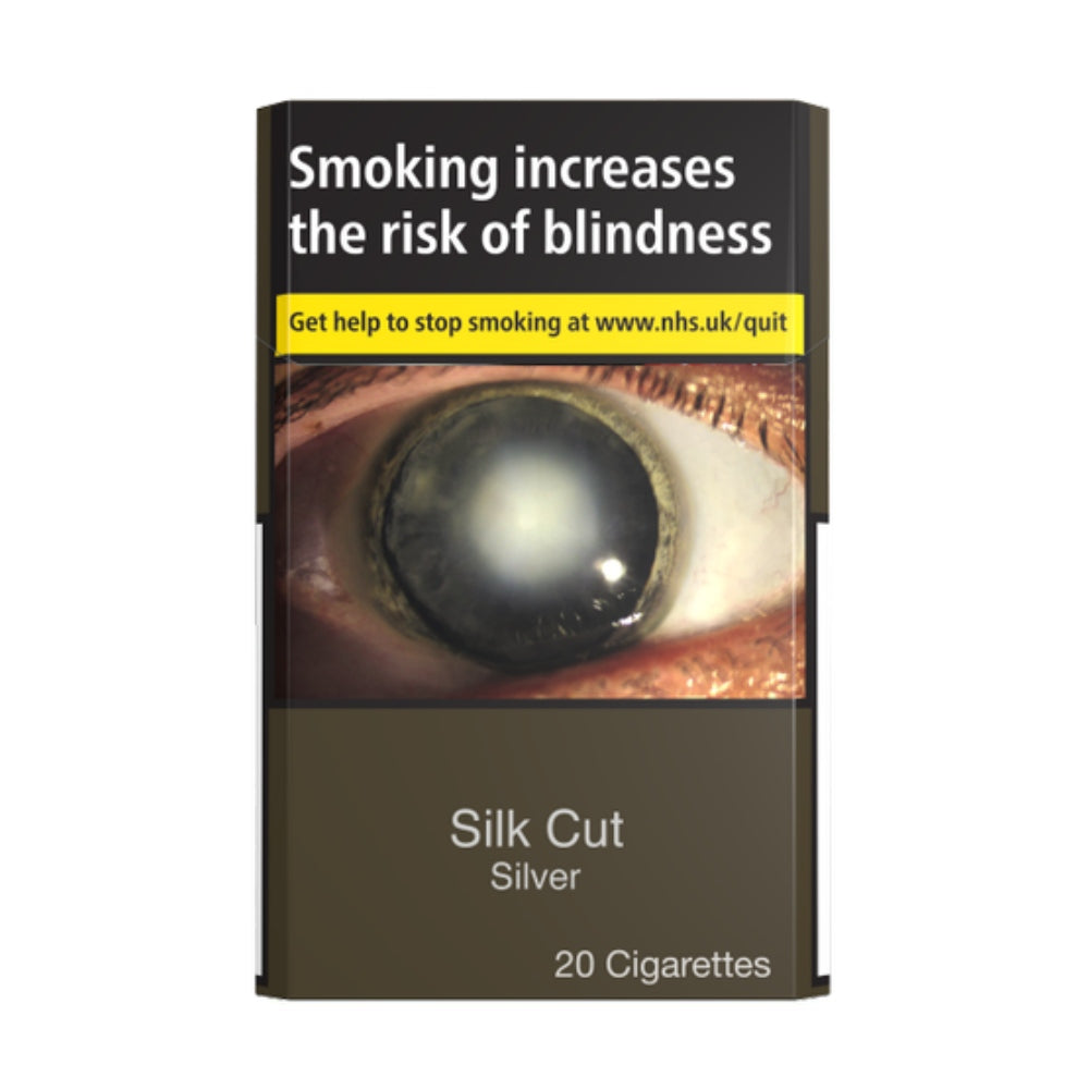 Silk Cut Silver Cigarettes 20 Pack