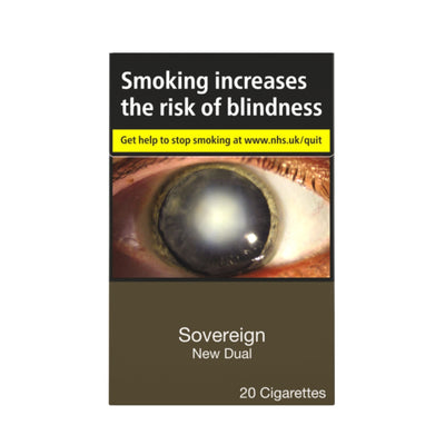 Sovereign New Dual Cigarettes 20 Pack