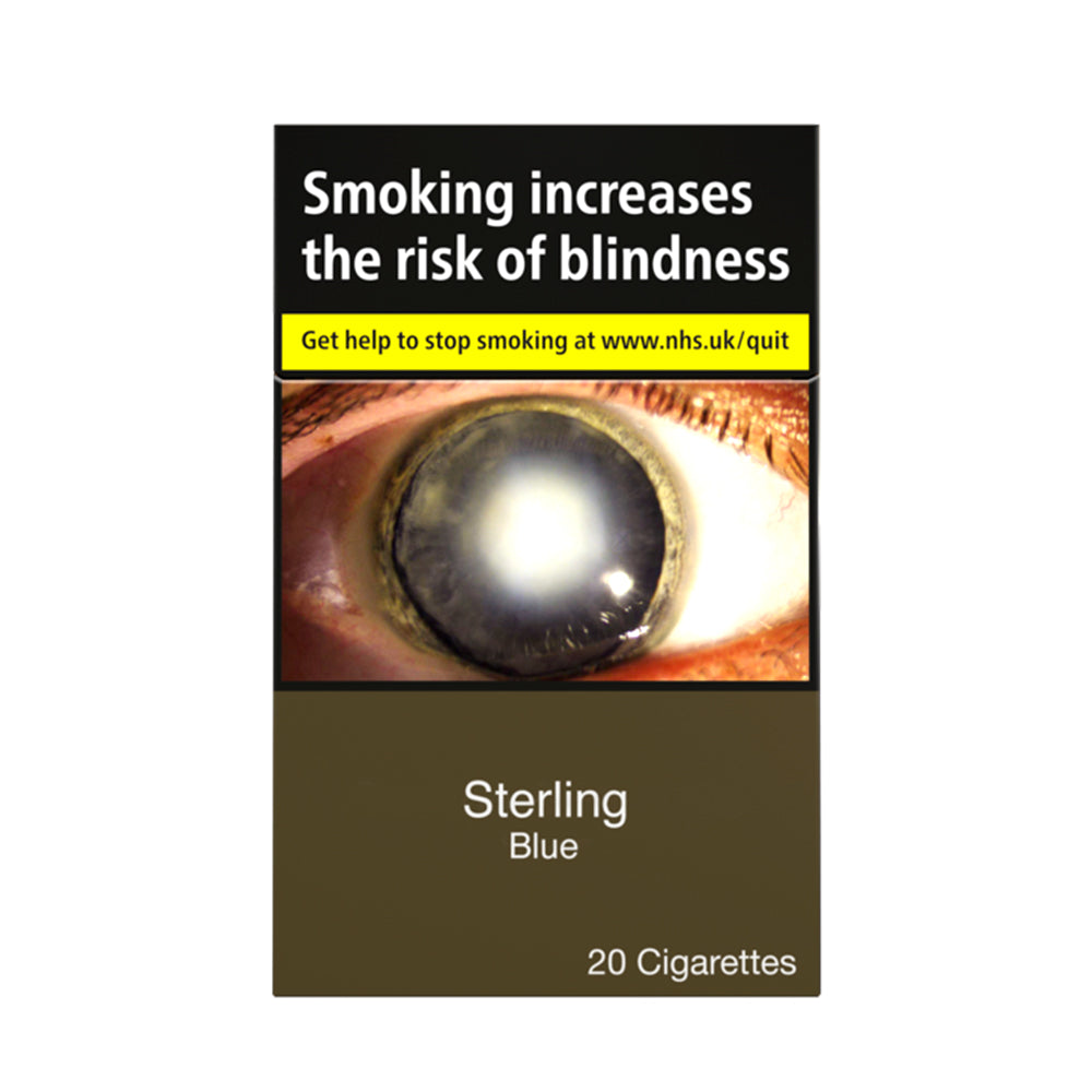 Sterling Blue Cigarettes 20 Pack