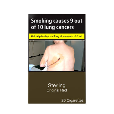 Sterling Original Red Cigarettes 20 Pack