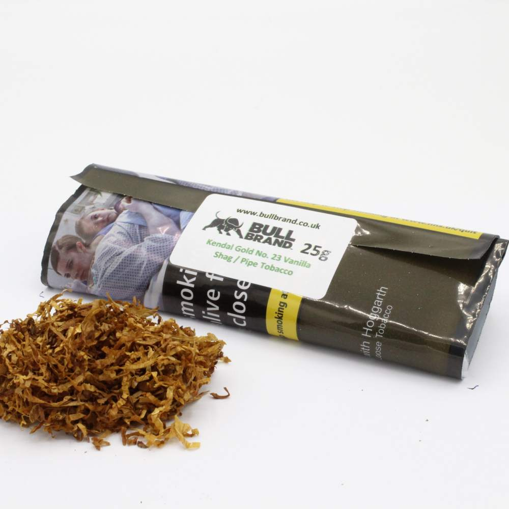 Kendal Gold (No.23 Vanilla) Shag / Pipe Tobacco 25g Loose