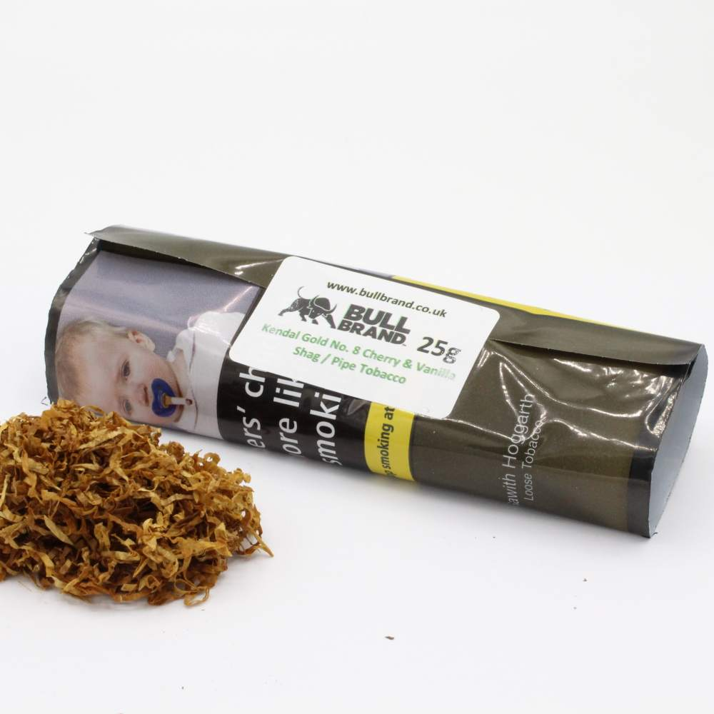 Kendal Gold (No.8 Cherry & Vanilla) Shag / Pipe Tobacco 25g Loose