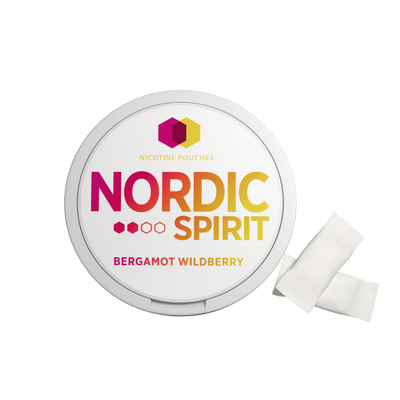 Nordic Spirit Nicotine Pouch Bergamot Wildberry 6mg