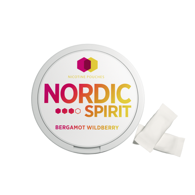 Nordic Spirit Nicotine Pouch Bergamot Wildberry 9mg