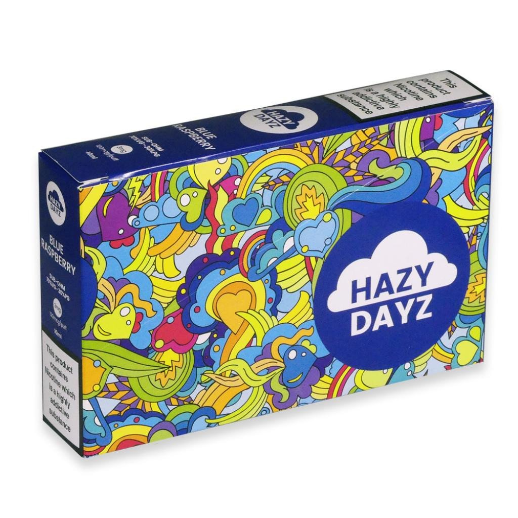 Hazy Dayz Blue Raspberry Sub-Ohm E-Liquid 3mg