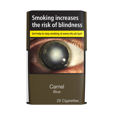Camel Blue Cigarettes 20 Pack