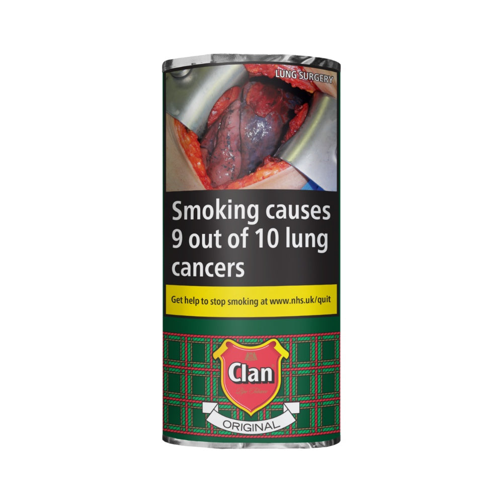 Clan Original Pipe Tobacco 50g