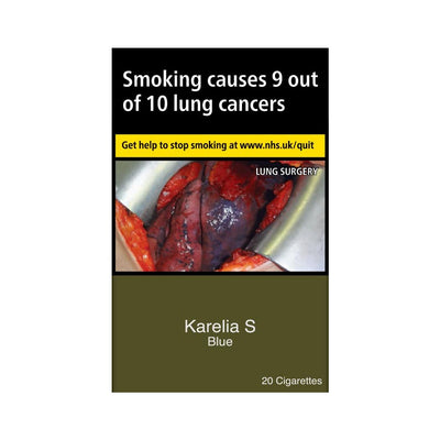 Karelia Slims Blue Cigarettes 20 Pack