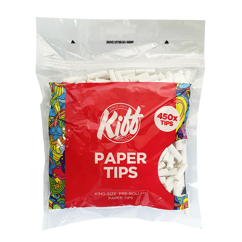 Kiff King Size Paper Tips Bags 450s