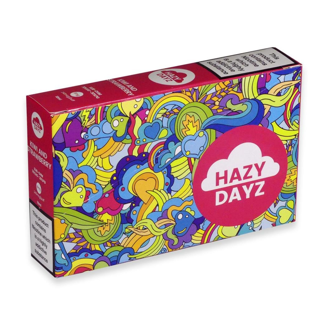 Hazy Dayz Kiwi and Strawberry Sub-Ohm E-Liquid 3mg