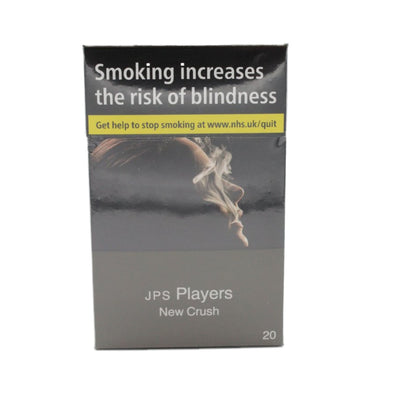 JPS Players New Crush 20s Cigarettes