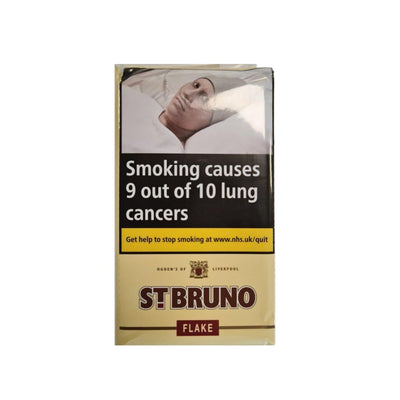 St Bruno Flake Pipe Tobacco 50g Pouch