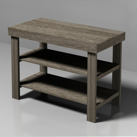 Grey MDF Bench with Shoe Rack ITY HL-62