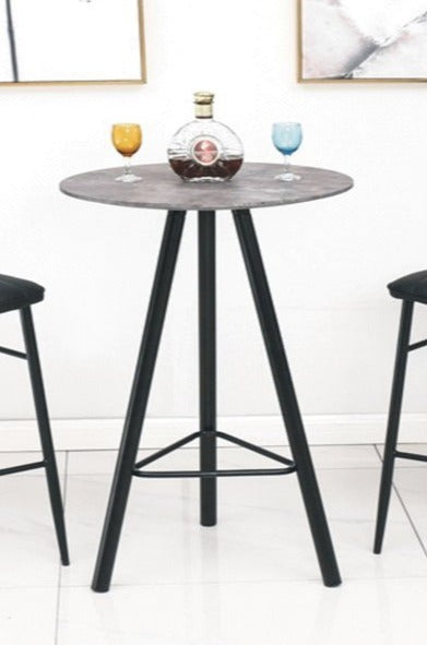 Pub Table Only - Round Grey   T-1816