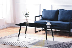 Coffee Table - Black Marble Glass   IF-2581 C