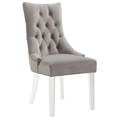 CAVALLI-ACCENT CHAIR-GREY