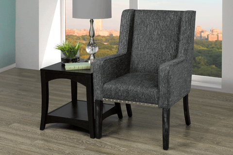 Accent Chair - Charcoal Grey