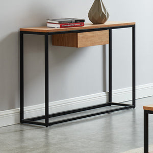 LANCE-CONSOLE TABLE-OAK