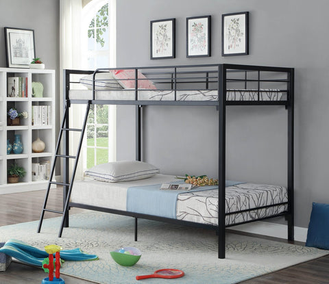 Single/Single Metal Bunk Bed Various Colours  B-530 / 1 / 2