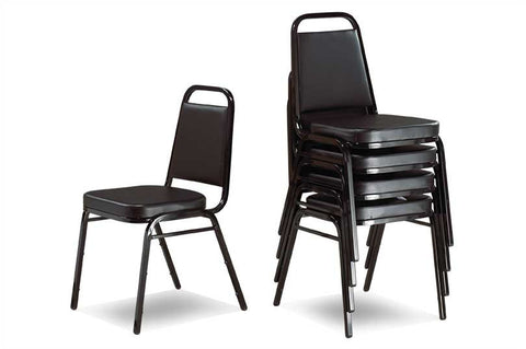 Stacking Chair - Black