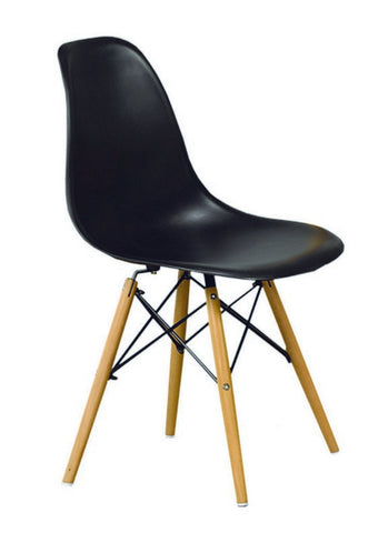 Chair only - Eiffel Style in Black or White C-1420 / C-1421
