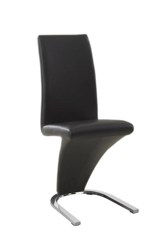Chair only - Z Shape Black  C-1785