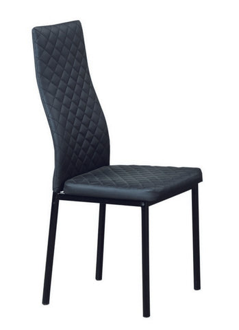 Chair only - Black Vinyl C-5059