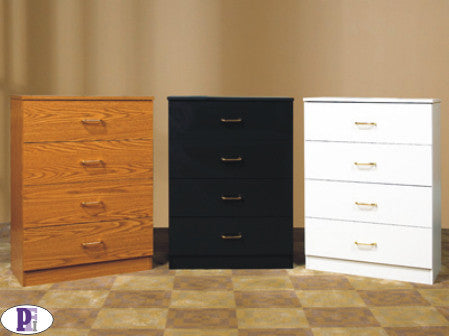 STR Chest - 4 Drawer  - Available Various Colours