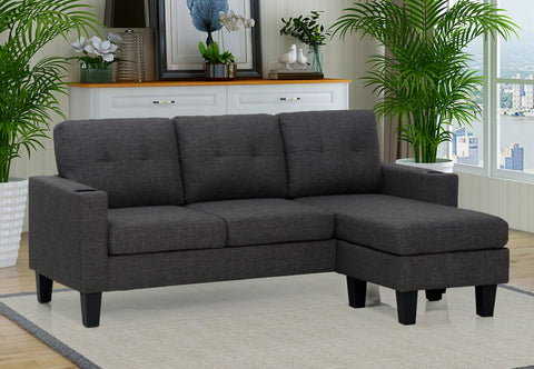 Sectional Sofa - Darwin LITE Grey - CLEARANCE