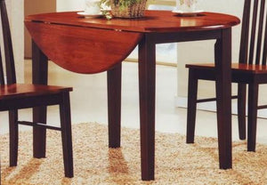 Dining Table Only - Round Drop Leaf  T-1012