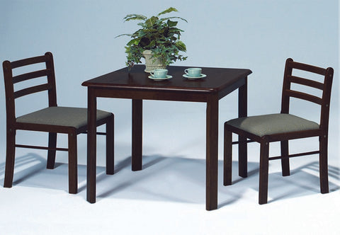 3 Pc  Dining Set - Espresso  IF-1014