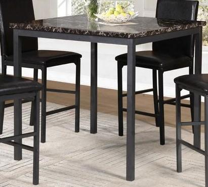 Pub Table Only - Faux Mable Top  T-1015