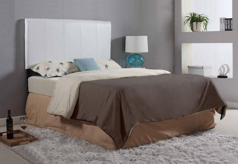Headboard Only - Espresso or White Vinyl  IF-136