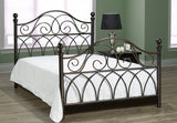 Bed - Hammered Bronze or White Metal Finish IF-145 / IF-153
