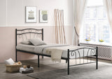 Bed - Black or White Metal  IF-155