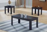 3 pc Coffee Table Set - Espresso  IF-2021