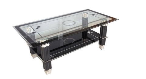Coffee Table with aluminum Legs  IF-2044