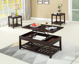 3Pc Coffee Table Set with Lift Coffee Table  IF-2045