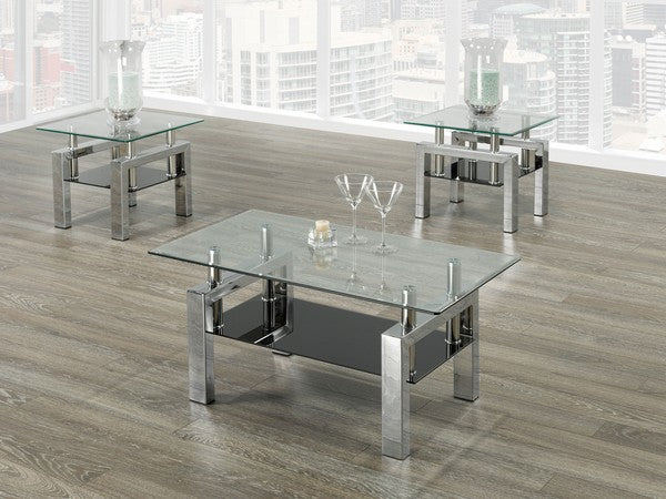 3 Pc Coffee Table Set  IF-2049