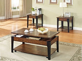 3Pc Coffee Table Set with Lift Coffee Table  IF-2059