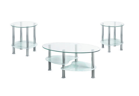3 Pc Coffee Table Set Various Colours  IF-2600 / 2605