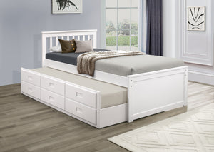 Captain Single/ Single Bed W/Trundle  IF-300