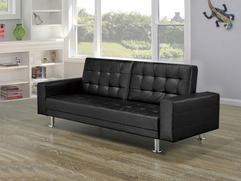 Klick Klack Futon - Black or Brown  IF-350 / 351