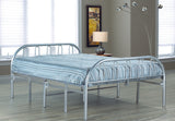 Silver Metal Folding Bed  IF-392