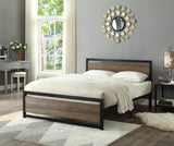 Bed - Wood Panel with Steel Frame  IF-5260 / 5261