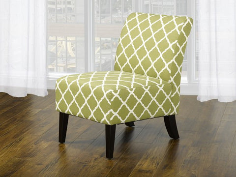 Accent Chair (Quatre Foil Green)  IF-6225